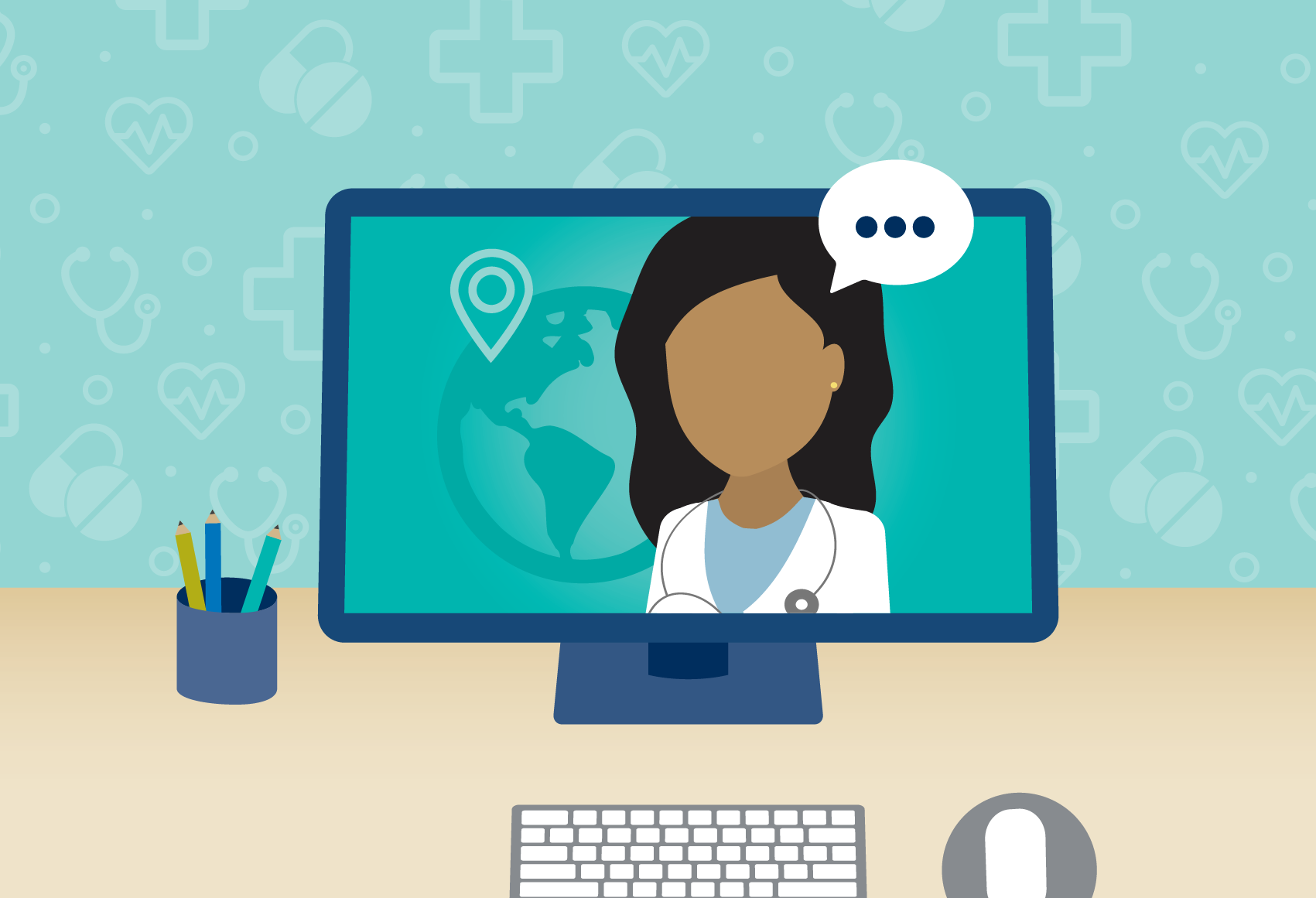 telehealth visit with health care provider